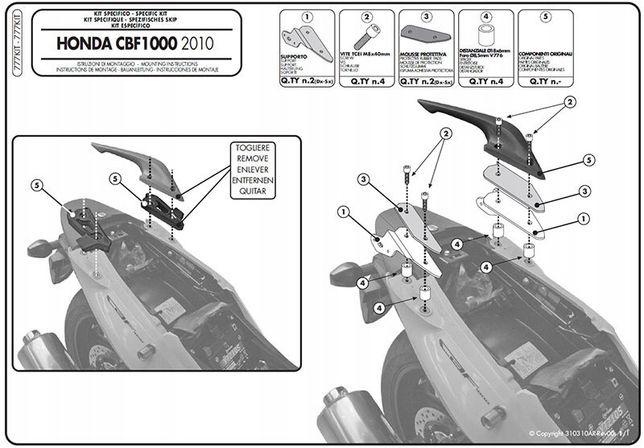 Honda CBF1000 GIVI Kit777