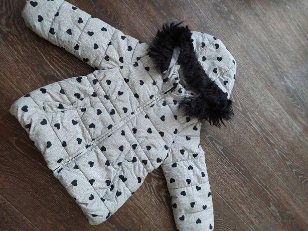 Куртка H&M на девочку 2/3 года. В очень хорошем состоянии.