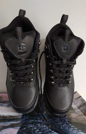 Кожаные термо ботинки Khombu, на ногу в 25,5 - 26 см