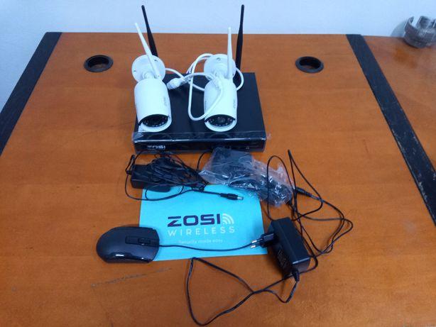 Zestaw monitoringu, rejestrator, 2 kamery 2MP, wifi, dysk HDD, CCTV.