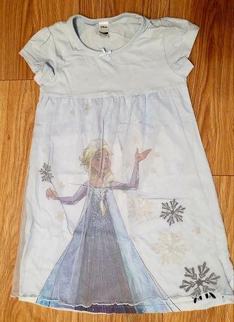 Koszula nocna piżama 110/115 Frozen Kraina Lodu Elza