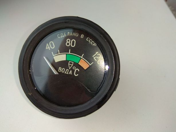 Раритетный (СССР) указатель температуры воды УК-133А