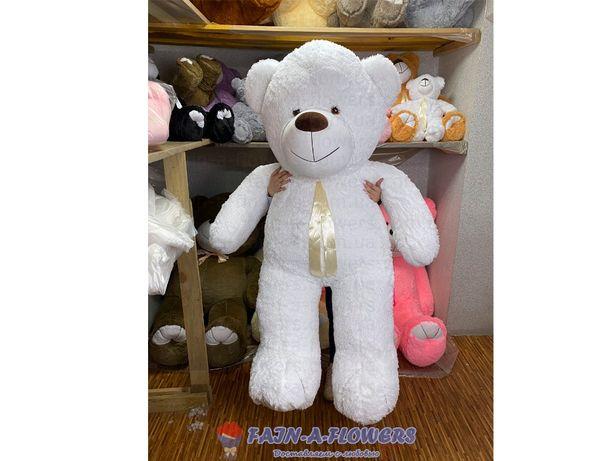 Белый плюшевый мишка 2 метра, мягкие игрушки, мишка 200 см
