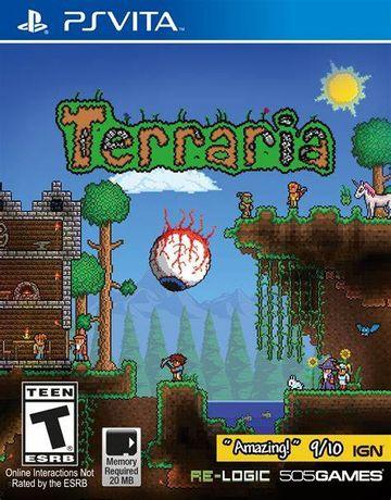 Terrari Ps Vita Mega Unikat