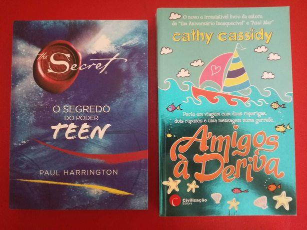 Livros novos para (pré-)adolescentes (Poder Teen + Amigos à Deriva)