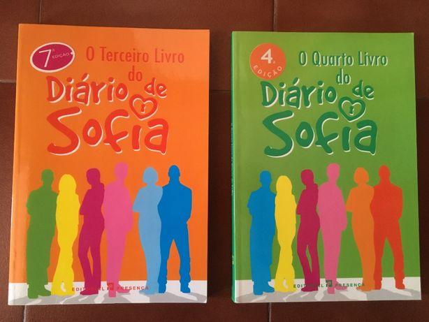"""2 Livros - """"O Terceiro e Quarto Livro do Diário de Sofia"""""""