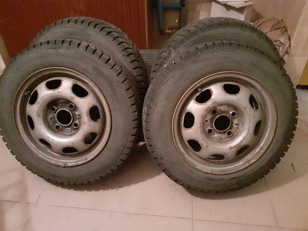 Felgi+opony komplet 4 szt.VW