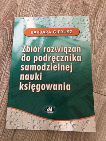 B. Gierusz Zbiór rozwiązań do podręcznika samodzielnej nauki księgowan