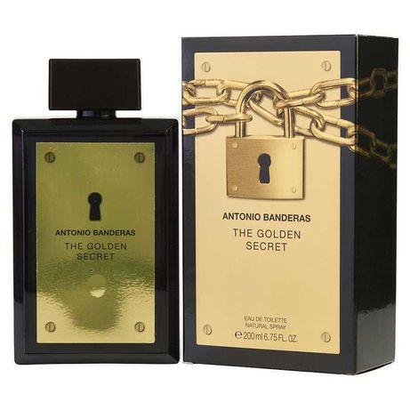 Perfume Antonio Banderas Golden Secret Man EDT 200ml