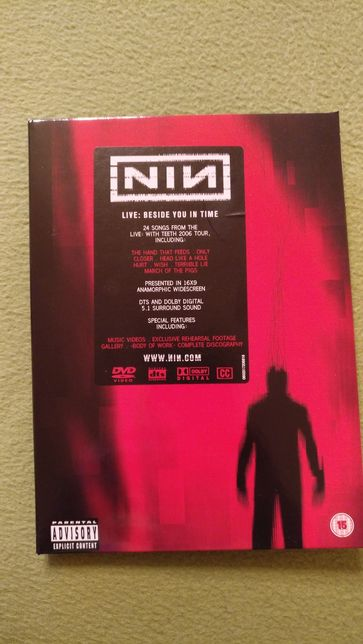 Nine Inch Nails DVD Live: Beside You In Time