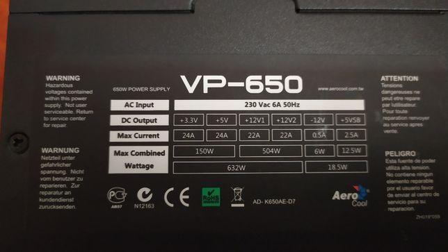 Aerocool VP-650 650W