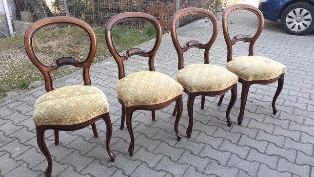 Krzesła Ludwikowskie - krzesła do salonu