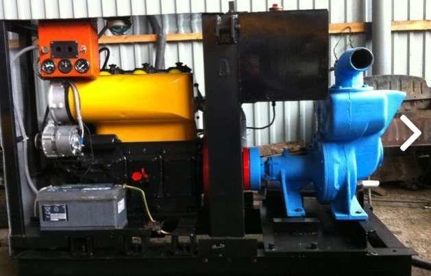Мотопомпа ABI (для давления и выкачивания грязной воды)