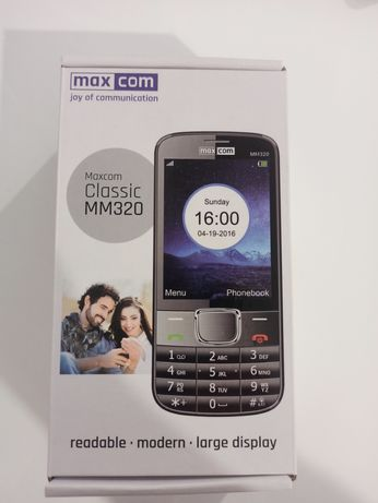 Telefon Maxcom Classic MM320 nowy