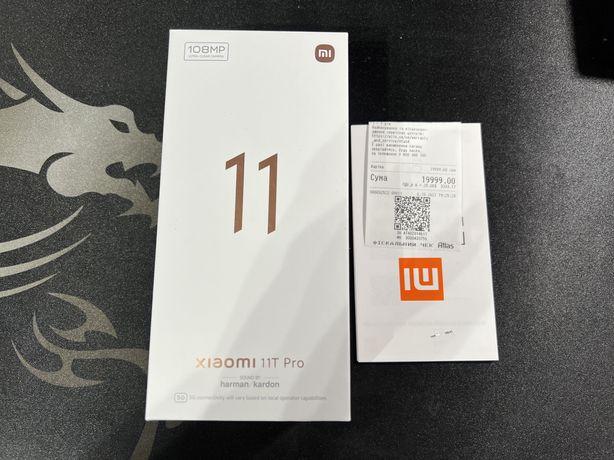 Xiaomi 11T Pro 8/256GB Moonlight White (Новый! Год гарантии от Алло)