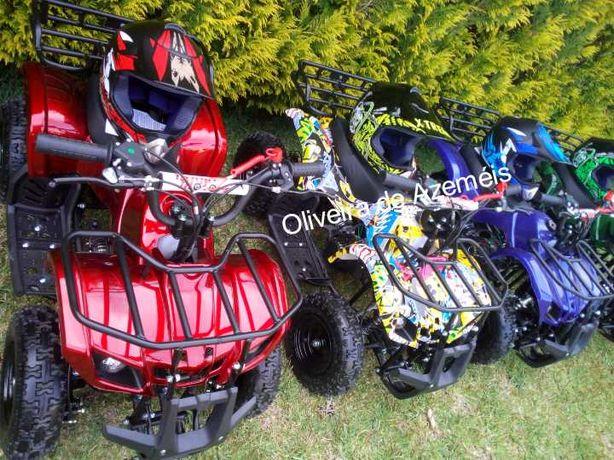 Mini Moto4 gasolina para crianças