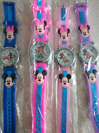 NOWE Zegarek Myszka Miki Mickey Minnie