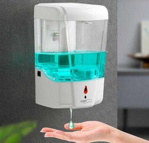 Dispensadores Automáticos de Álcool Gel - Entrega Imediata