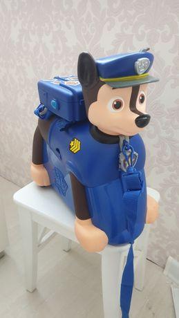 """Детский чемодан """"Гонщик"""" из Щенячего патруля."""