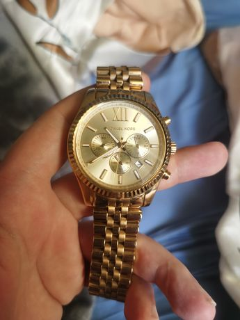 Złoty zegarek Michael Kors meski