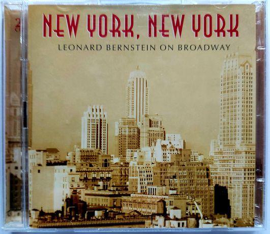 New York, New York Leonard Bernstein On Broadway 2CD 2002r