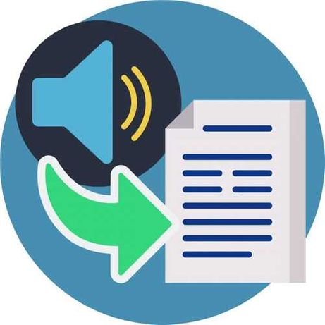 Transcrições de áudio para texto