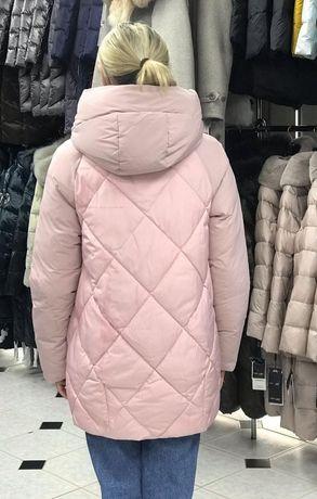 Зимняя стильная куртка для беременяшки