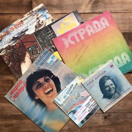 Музыкальные пластинки СССР