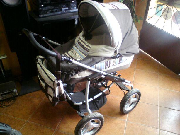Wózek dziecięcy głęboki + spacerówka BEBECAR