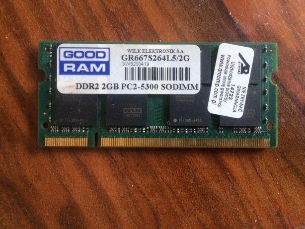 pamięć Ram 2GB DDR2 GOODRAM GR667S264L5/2G PC2-5300