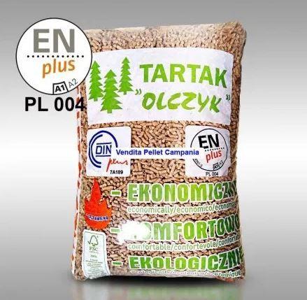Pellet Pelet OLCZYK 1050 KG !! certyfikowany DIN PLUS
