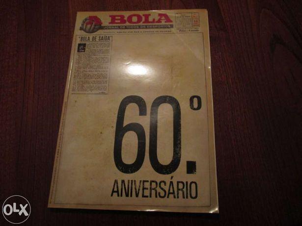"""Revista 60ºaniversário de """"A Bola"""""""