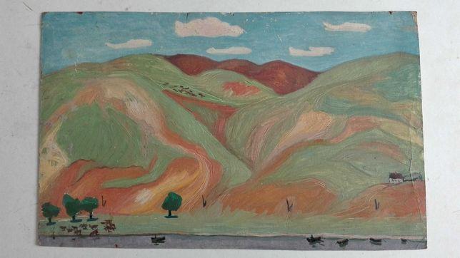Пейзаж-этюд 1965г. художника Скорлупина Е.П.