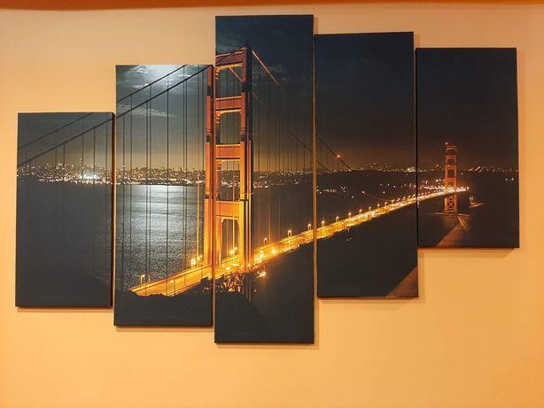 Obraz most Golden Gate jak nowy ! Okazja !