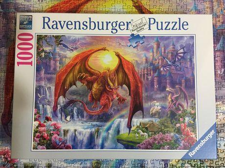 Puzzle 1000 ravensburger smok