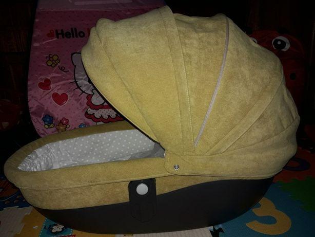 Детская универсальная коляска Lonex Sweet baby pastel 2в1 (Лонекс)