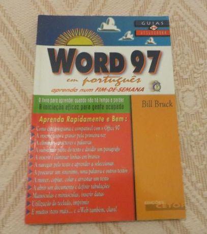 """""""Word 97 em Português"""" Aprender num fim de semana"""