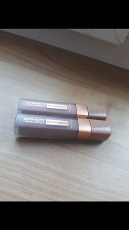 Pomadki Loreal paris les chocolats ultra matte liquid lipstick pomadka