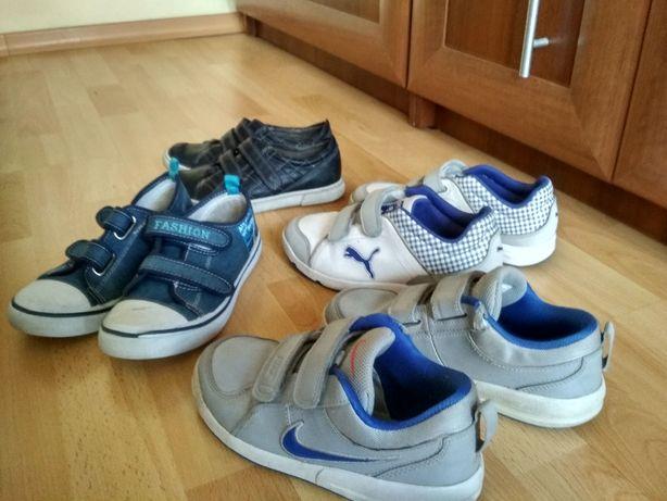 Buty dla chłopca,dziecięce,Nike,puma,trampki,rozm.33