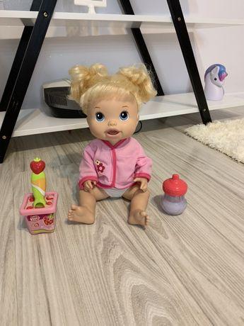 Baby Alive - lalka mówiący łakomczuszek + gratis