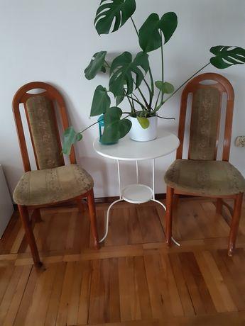 krzesła tapicerowane używane 6 sztuk, cena za komplet