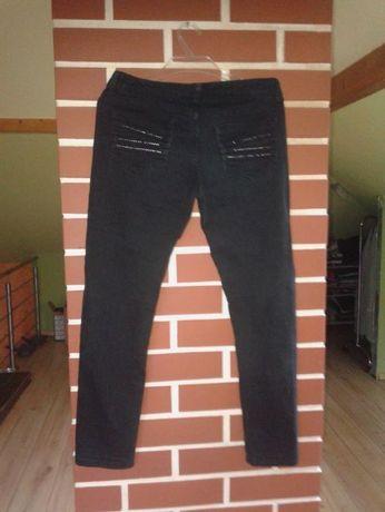 Spodnie damskie jeansowe czarne Marks&Spenser rozmiar 10