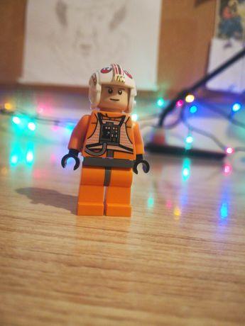 LEGO STAR WARS. Orygina Figurka Luke Skywalker Pilot. Gwiezdne Wojny.