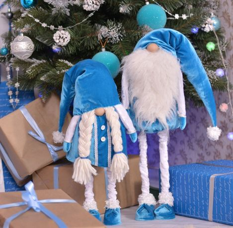 гномы, гномики, новогодние гномы, рождественские гномы