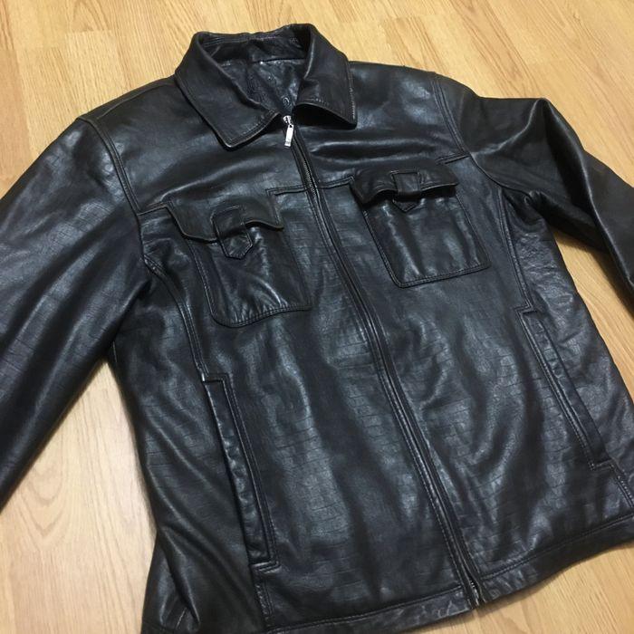 Кожаная куртка муржская Коростышев - изображение 1