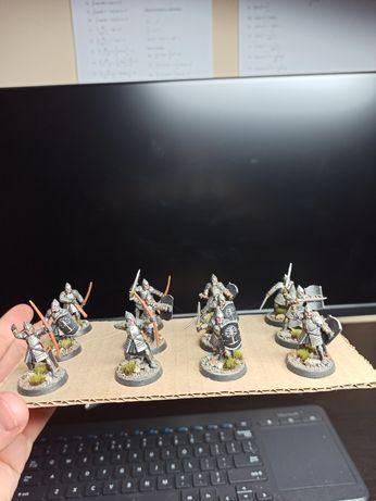 Warhammer hobbit the lord of the rings figurki modele gondor