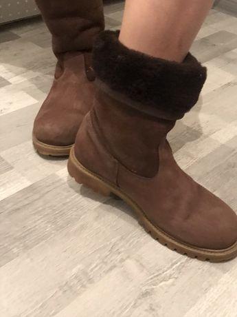 Продам классные зимние ботинки