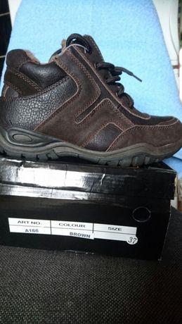 Zimowe buty chłopięce rozmiar 37