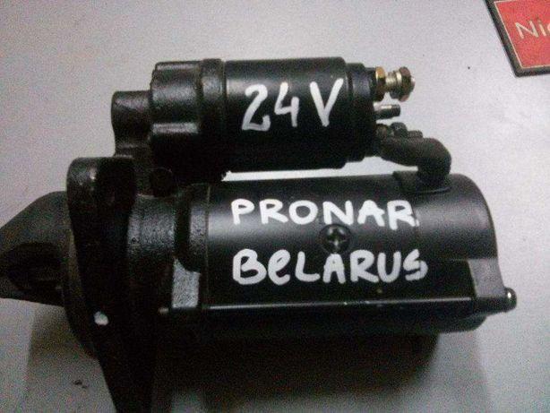 Rozrusznik Iskra Letrika 24V Belarus 920 Pronar 1025 Pronar 1221