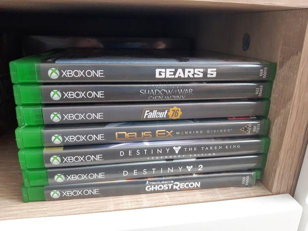 Zestaw 7  gier Xbox one PL